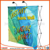 260GSM Fabric Straight Pop up Display Stand with LED Light