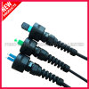 IP68 Outdoor Fiber Optic ODVA-SC Waterproof Connector
