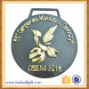 Black Golden Comerical Sport Medal Economic
