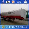 3 Axles Stainless Fuel Oil Tanker Trailer