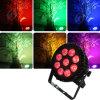 Outdoor IP65 Waterproof Rgbawuv 9PCS PAR Garden Light