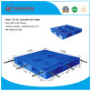 Warehouse Products Plastic Tray 1300*1100*150mm HDPE Plastic Pallet 1.5t Rack Load Heavy Duty Plastic Pallet with 6 Steel Tubes for Storage