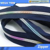 5# Colorful Teeth Nylon Zipper