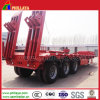 Trpile Axle Lowbed Semitrailer Truck Low Bed Semi Trailer