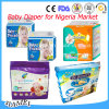 2016 New Breathable Disposable Baby Diaper with Super Absorption