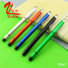 Multi-Color Highlighter Plastic Pen Cheap Customized Logo Pen on Sell