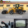 2t Wheel Loader with Mulcher Attachment