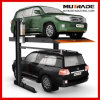 Two Post Double Layer Hydraulic Car Parking Lift
