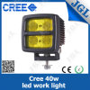 Amber Lens 40W Waterproof IP68 CREE LED Fog Light
