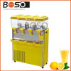 Three Tank 36L Juice Dispenser with Hot and Cold Function