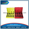 O Ring Kits with Red, Yellow, Blue Color Box