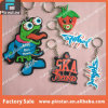Factory Directly Cheap Promotional 2D Custom Animal Shaped Soft PVC keychain