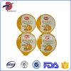 68mm PP and PS Plastic Cup Sealing Aluminium Foil Lid