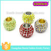 Fashion Jewelry Silver Crystal Beads Charm for Bracelet