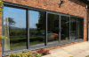 Ultra Smooth Patio Balcony Sliding Doors with Ce Approved