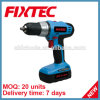 Fixtec Power Tools 20V Mini Portable Electric Drill of Cordless Drill Bits