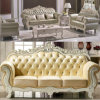 Classic Leather Sofa for Living Room Furniture Set (D929L)