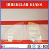 Irregular Shaped Glass/Cutomize Shape Glass/Glass Grooving/Hole Boring Glass