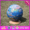 2017 Wholesale Wooden Globe Toy, Newly Wooden Globe Toy, Children Wooden Globe Toy W14G038