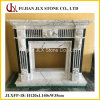 Custom Design Marble Stone Carved Fireplace