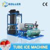10 Tons Cylindrical Hollow Tube Ice Machine