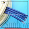 Sunbow 2.5kv Acrylic Coated Glass Fibre Sleeving 6mm Bore Black