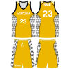 Custom Polyester Men Sublimated Basketball Jersey with Your Own Logo