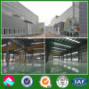 Steel Structure Industrial Workshop with Crane and Mezzanine Floor