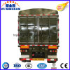 3 Axles 50 Tons Livestock Animal Transport Trailer with Tent Crossgirders