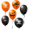 Halloween Party Decoration Room Ornaments Skull and Pumpkin Balloon (JST-HPB9876)