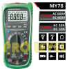 4000 Counts Professional Digital Multimeter (MY78)