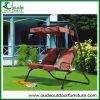 Outdoor Garden Iron Swing Two Seats Swing Furniture