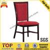 Hotel Metal Wood-Look Restaurant Dining Chair