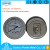 2.5inch 63mm 4 Kpa Low Pressure Bellows Pressure Gauge