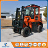 Lifting Equipment Diesel Engine 3.0t Rough Terrain Forklift for Sale