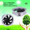 Grey Ral7035 280X80mm Single Speed 230VAC Axial Fan with IP44
