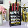 New Style Black Acrylic Lipstick Nail Polish Display Stand Rack