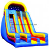 Double Lane Inflatable Wet/Dry Slide