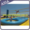 Inflatable Round Bossaball Court for Beach
