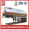 39cbm Goose-Neck Stainless Steel Oil Tank Semi Trailer
