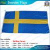 90X180cm 160GSM Spun Polyester Sweden Flag (NF05F09049)