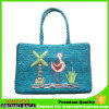 Hand Woven Straw Summer Beach Tote Bag