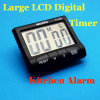 Big LCD Kitchen Digital Alarm Count up/Down Timer