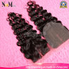 Premium Quality Remy Virgin Deep Wave Brazilian Hair Silk Top Lace Closure