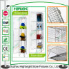 Zinc Wire Mesh Eight Compartment Locker