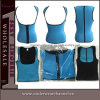 Lady Plus Size Lingerie Sexy Latex Waist Training Corset (TKSQ7070)