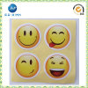Promotional Cartoon Happy Face Self Adhesive Sticker Label (JP-S119)