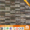 Shower Room Emperador and Coffee Color Glass Mosaic (M858019)