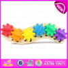 Newest Caterpillar Educational Game Kids Wooden Toy Gear, Latest Style Intelligence Wooden Toy Gear Manufacturer W13D092