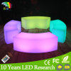 Modern Color Changeable battery Rechargeable Plastic LED Long Bench Chair